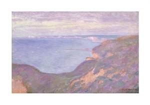 """Claude Monet Fine Art Open Edition Giclée:""""The Cliffs Near Dieppe"""""""