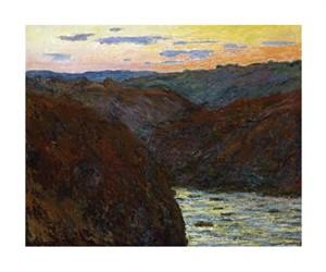 "Claude Monet Fine Art Open Edition Giclée:""La Creuse, Sunset"""
