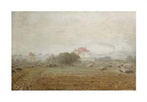 """Claude Monet Fine Art Open Edition Giclée:""""Fog - Effet de Brouillard"""""""