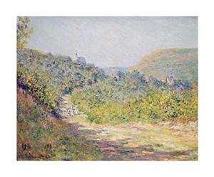 """Claude Monet Fine Art Open Edition Giclée:""""Aux Petites Dalles"""""""
