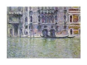 "Claude Monet Fine Art Open Edition Giclée:""Le Palais Da Mula"""