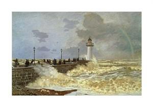 """Claude Monet Fine Art Open Edition Giclée:""""The Quay at Le Havre"""""""