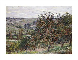 "Claude Monet Fine Art Open Edition Giclée:""Apple Trees Near Vetheuil"""