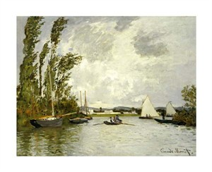 "Claude Monet Fine Art Open Edition Giclée:""The Little Branch of the Seine"""