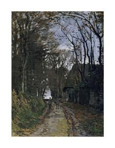 "Claude Monet Fine Art Open Edition Giclée:""A Normandy Path"""
