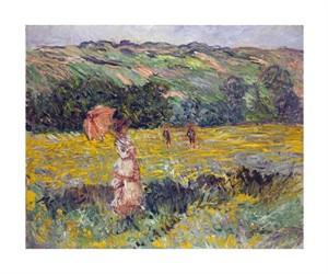 """Claude Monet Fine Art Open Edition Giclée:""""Limetz Meadow"""""""