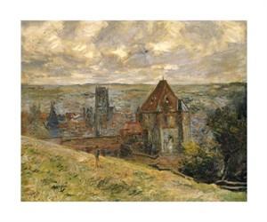 """Claude Monet Fine Art Open Edition Giclée:""""Dieppe"""""""