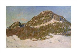 "Claude Monet Fine Art Open Edition Giclée:""Mount Kolsaas in Sunlight"""
