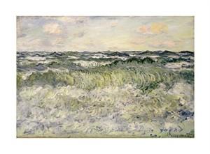"Claude Monet Fine Art Open Edition Giclée:""Marine (Etude de Mer)"""