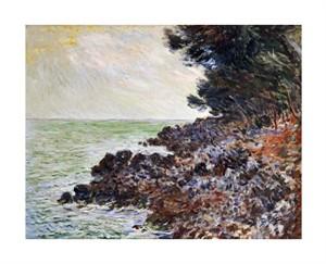 """Claude Monet Fine Art Open Edition Giclée:""""Cap Martin"""""""