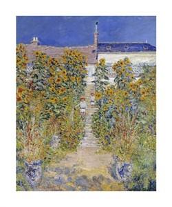 """Claude Monet Fine Art Open Edition Giclée:""""The Artist's Garden at Vetheuil"""""""