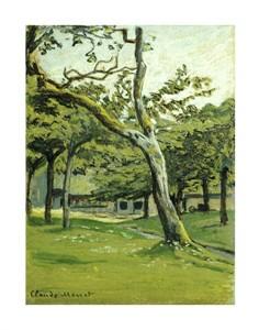 """Claude Monet Fine Art Open Edition Giclée:""""An Orchard"""""""
