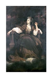 "Joshua Reynolds Fine Art Open Edition Giclée:""Mrs. Siddons as the Tragic Muse"""