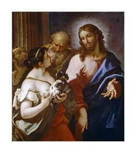"Sebastiano Ricci Fine Art Open Edition Giclée:""Christ and the Canaanite Woman"""