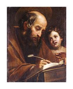 """Matteo Rosselli Fine Art Open Edition Giclée:""""Saint Matthew"""""""