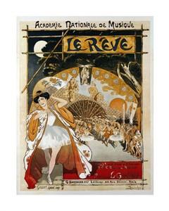 "Theophile Steinlen Fine Art Open Edition Giclée:""Le Reve"""