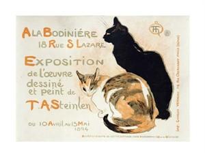 """Theophile Steinlen Fine Art Open Edition Giclée:""""A La Bodiniere"""""""