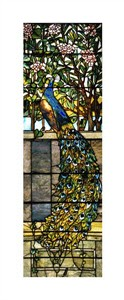 "Tiffany Studios Fine Art Open Edition Giclée:""Detail of Right Side of Twilight"""