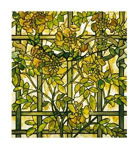 "Tiffany Studios Fine Art Open Edition Giclée:""Trumpet Vine"""