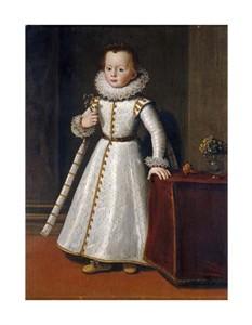 """Tiberio Titi Fine Art Open Edition Giclée:""""Portrait of Carlos di Fernando de Medici"""""""