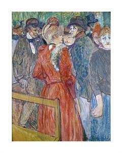 """Henri Toulouse-Lautrec Fine Art Open Edition Giclée:""""At the Moulin de la Galette"""""""