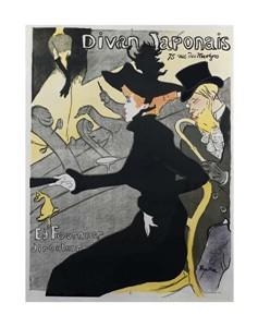 """Henri Toulouse-Lautrec Fine Art Open Edition Giclée:""""Divan Japonais"""""""