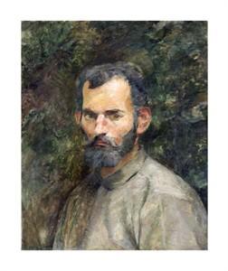 """Henri Toulouse-Lautrec Fine Art Open Edition Giclée:""""Tete D'Homme"""""""