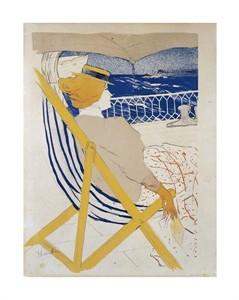 """Henri Toulouse-Lautrec Fine Art Open Edition Giclée:""""La Passagere Du 54, Ou Promenade En Yacht"""""""
