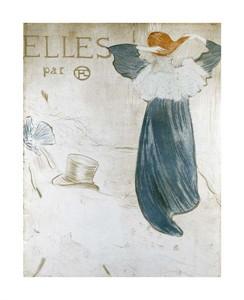 """Henri Toulouse-Lautrec Fine Art Open Edition Giclée:""""Frontispice Pour Elles"""""""