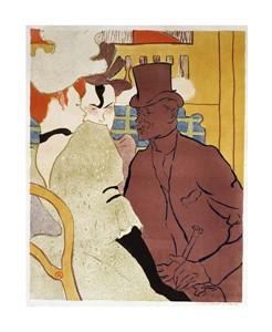 """Henri Toulouse-Lautrec Fine Art Open Edition Giclée:""""L' Anglais au Moulin Rouge"""""""