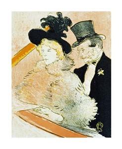 """Henri Toulouse-Lautrec Fine Art Open Edition Giclée:""""Au Concert"""""""