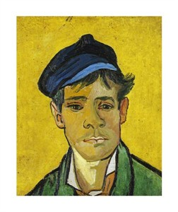 "Vincent Van Gogh Fine Art Open Edition Giclée:""Young Man in a Cap"""