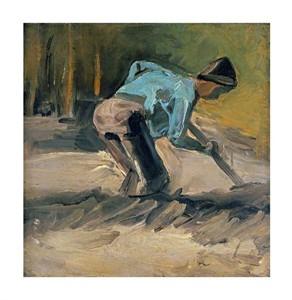 """Vincent Van Gogh Fine Art Open Edition Giclée:""""Man at Work"""""""