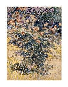 "Vincent Van Gogh Fine Art Open Edition Giclée:""The Rose Bay, Saint-Remy"""