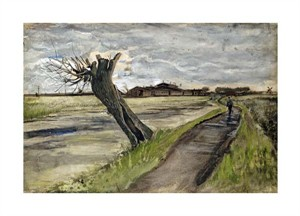 "Vincent Van Gogh Fine Art Open Edition Giclée:""Pollard Willow"""