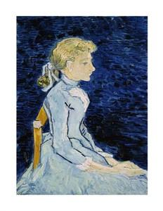 """Vincent Van Gogh Fine Art Open Edition Giclée:""""Adeline Ravoux"""""""