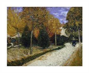 "Vincent Van Gogh Fine Art Open Edition Giclée:""The Public Garden"""