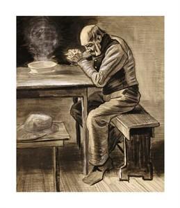 """Vincent Van Gogh Fine Art Open Edition Giclée:""""The Prayer"""""""