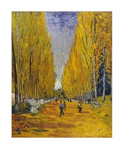 "Vincent Van Gogh Fine Art Open Edition Giclée:""The Elysian Fields"""