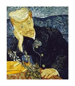 """Vincent Van Gogh Fine Art Open Edition Giclée:""""Portrait of Dr. Gachet"""""""