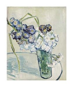 "Vincent Van Gogh Fine Art Open Edition Giclée:""Still Life, Vase of Carnations"""
