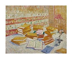 """Vincent Van Gogh Fine Art Open Edition Giclée:""""The Parisian Novels"""""""