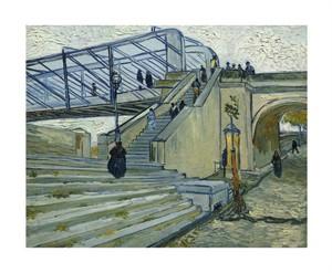 """Vincent Van Gogh Fine Art Open Edition Giclée:""""Le Pont de Trinquetaille"""""""
