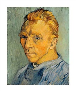 "Vincent Van Gogh Fine Art Open Edition Giclée:""Self Portrait Without Beard"""