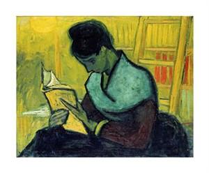 """Vincent Van Gogh Fine Art Open Edition Giclée:""""A Novel Reader"""""""