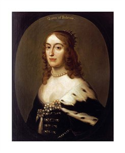 "Gerrit Van Honthorst Fine Art Open Edition Giclée:""Portrait of Elizabeth, Queen of Bohemia"""
