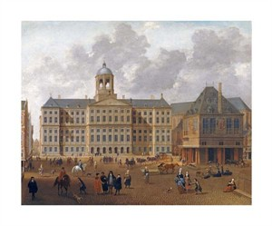 "Isaac Van Nickele Fine Art Open Edition Giclée:""The Town Hall on the Dam, Amsterdam"""