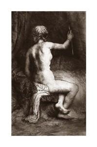 "Rembrandt Van Rijn Fine Art Open Edition Giclée:""The Woman with the Arrow"""