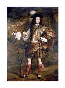 "John Michael Wright Fine Art Open Edition Giclée:""A Highland Chieftain"""