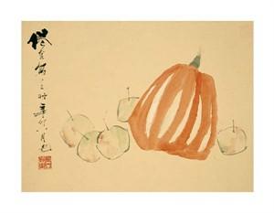 """Xu Gu Fine Art Open Edition Giclée:""""Pumpkins"""""""